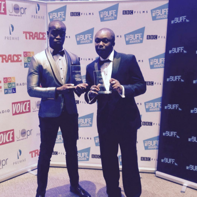 The British Urban Film Festival best director & movie award 2016: Meshack Enahoro ('Invisible Men')
