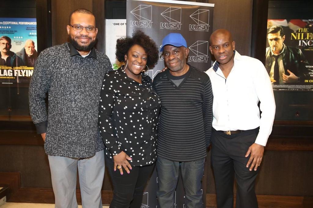 Emmanuel Anyiam-Osigwe MBE. Judy Love, Menelik Shabazz, Marlon Palmer