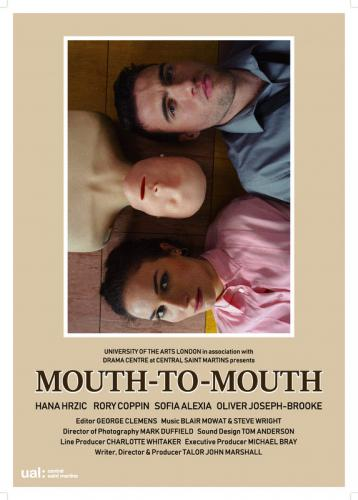 'Mouth to mouth' Wed 4 Sept 2pm - 6pm: It's complicated (shorts with Q&A)